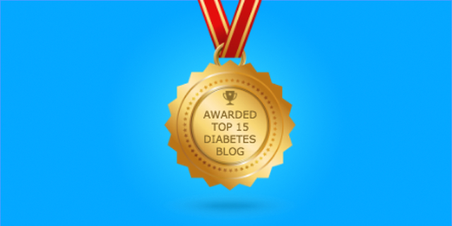 Medivizor Honored:  Top 15 Diabetes Blogs!