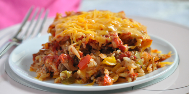 Guest Post: Fight Inflammation with Stuffed Bell Pepper Bake