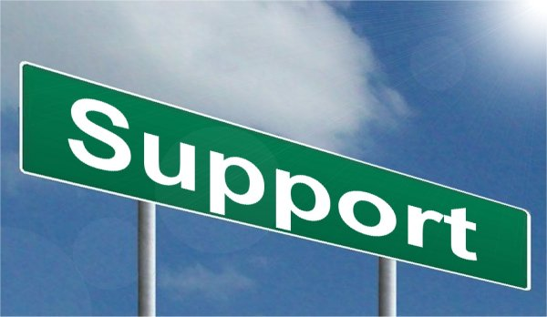 for the new year get support and be supportive