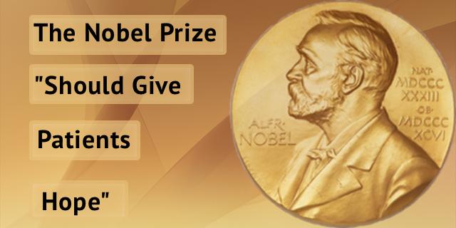 """Nobel Prize in Medicine, Dr. James Allison  and """"Hope"""""""