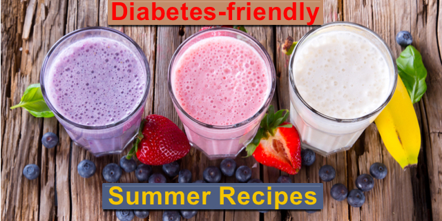 Diabetes-Friendly Recipes for the Summer