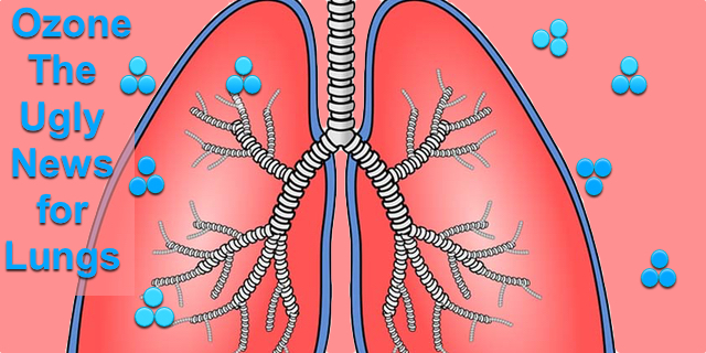 Ozone – The Good and the Bad and the Ugly News for Lungs