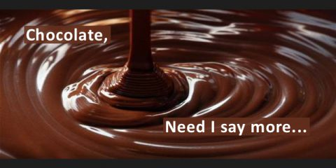 Chocolate, Need I Say More…