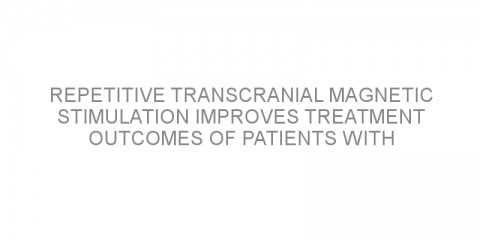 Repetitive transcranial magnetic stimulation improves treatment outcomes of patients with Parkinson's disease