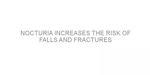 Nocturia increases the risk of falls and fractures