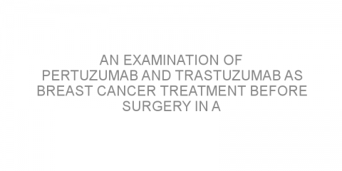 An examination of pertuzumab and trastuzumab as breast cancer treatment before surgery in a real-life setting