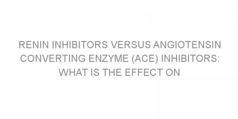 Renin inhibitors versus angiotensin converting enzyme (ACE) inhibitors: what is the effect on reducing blood pressure?