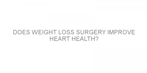 Does weight loss surgery improve heart health?