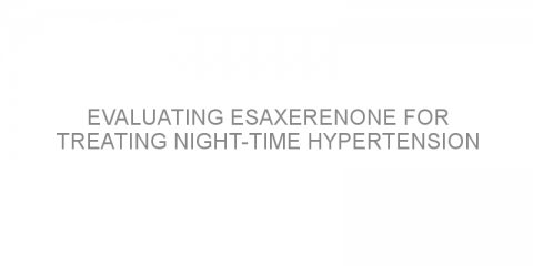 Evaluating esaxerenone for treating night-time hypertension