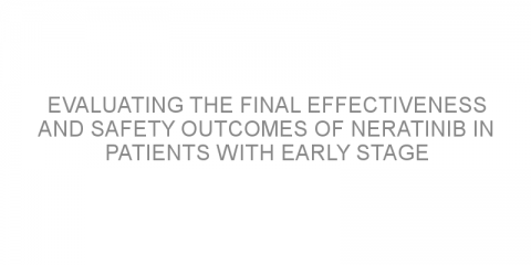 Evaluating the final effectiveness and safety outcomes of neratinib in patients with early stage HER2+/HR+ breast cancer.