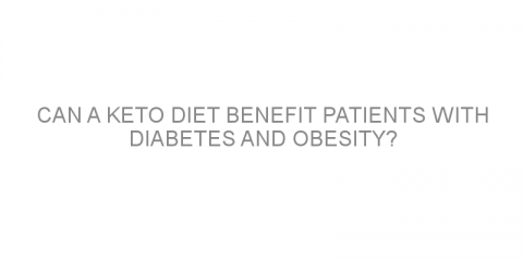 Can a keto diet benefit patients with diabetes and obesity?