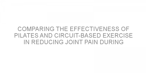 Comparing the effectiveness of Pilates and circuit-based exercise in reducing joint pain during hormone therapy for women with breast cancer.