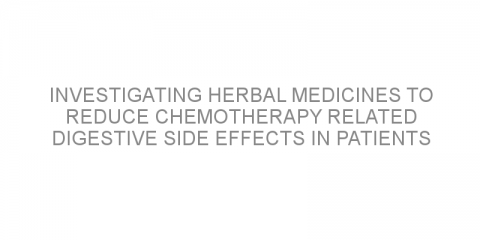 Investigating herbal medicines to reduce chemotherapy related digestive side effects in patients with colorectal cancer