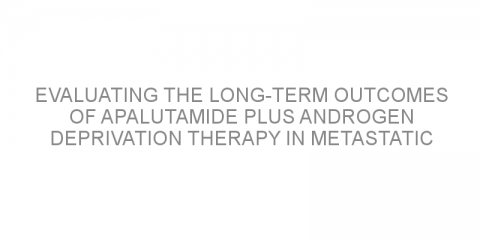 Evaluating the long-term outcomes of apalutamide plus androgen deprivation therapy in metastatic castration-sensitive prostate cancer
