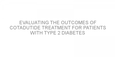 Evaluating the outcomes of cotadutide treatment for patients with type 2 diabetes