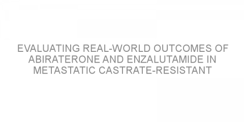 Evaluating real-world outcomes of abiraterone and enzalutamide in metastatic castrate-resistant prostate cancer