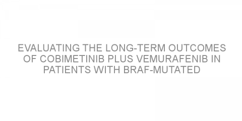 Evaluating the long-term outcomes of cobimetinib plus vemurafenib in patients with BRAF-mutated advanced melanoma.