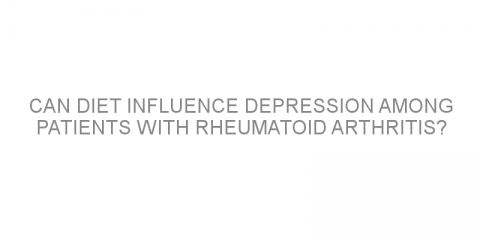 Can diet influence depression among patients with rheumatoid arthritis?