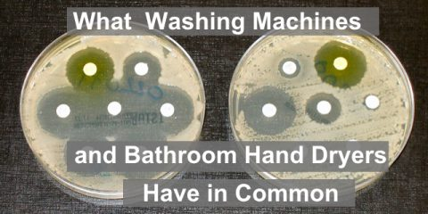 Washing Machines, Hand Dryers and Germs
